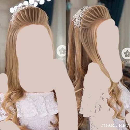 اجدد تسريحات الشعر للعروسة ليلة الزفاف بفورمات عصرية