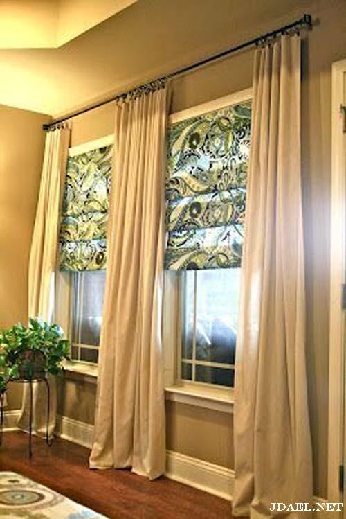 ديكور ستاير نوافذ صغيرة وشبابيك جانبية