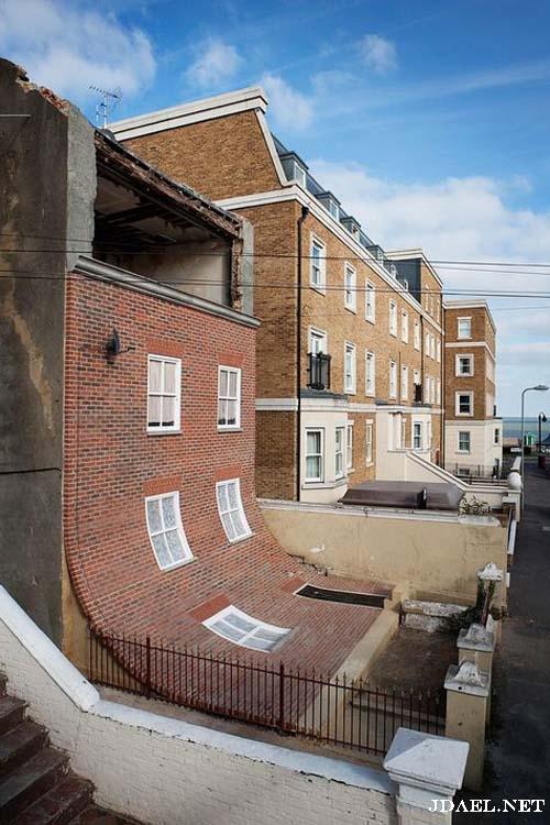 صور كيف تبني شقة وانت لا تملك ارض