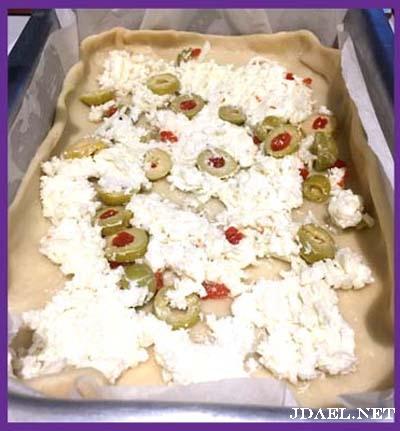 فطاير الجبن بالفرن باشكال منوعة