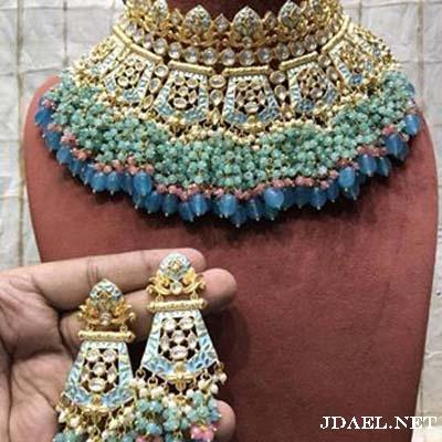 مجوهرات هندية للسهرات والغمره الهندي