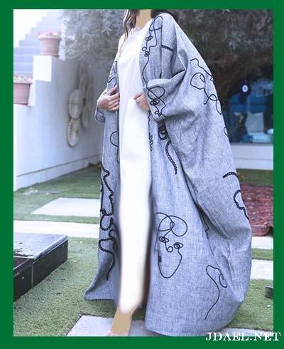 عبايات لينن لاناقة بنات السعودية والخليج