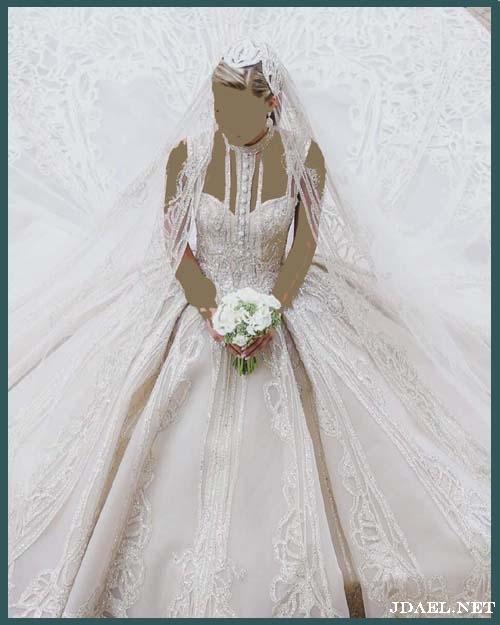 فساتين زفاف عصرية بتوقيع ايلي صعب
