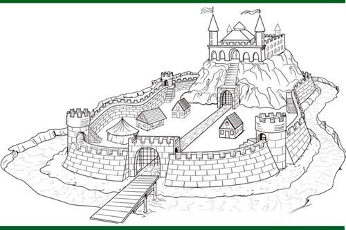 رسومات للتلوين وتعليم الاطفال الرسم